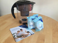 Brita Water Filter -complete with instruction booklet and 3 sealed cartridges worth £15.00