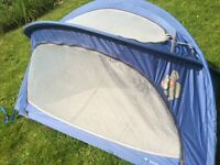 Little Life travel cot arc 2 blue - camping
