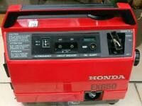 Honda ex 650 generator excellent condition