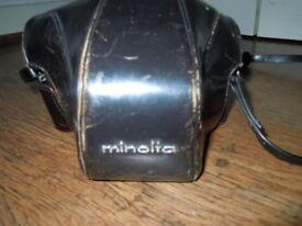VINTAGE MINOLTA 35MM SLR CAMERA