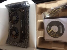 Zotac Nvidia GTX 1060 AMP edition 3gb graphics card