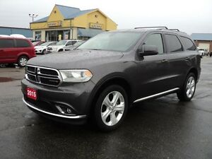 2015 Dodge Durango SXT AWD 3rd Row Seating