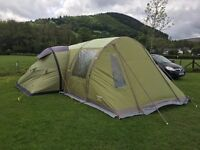 Vango Airbeam Infinity 600 Tent + Elite Side Awning - Excellent Condition
