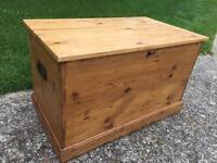 Victorian pine box
