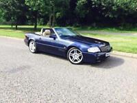 MERCEDES BENZ SL 500 HARD TOP CONVERTIBLE (APPRECIATING CLASSIC) £6495