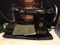 Sewing machine (singer)