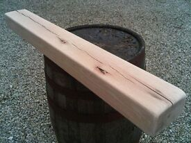 solid american oak air dried beams suitable for stove mantles etc