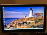 HP 2009v widescreen monitor 21 inch