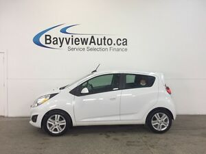 2015 Chevrolet SPARK - AUTO! ALLOYS! 1/2 LEATHER! A/C! MY LINK!