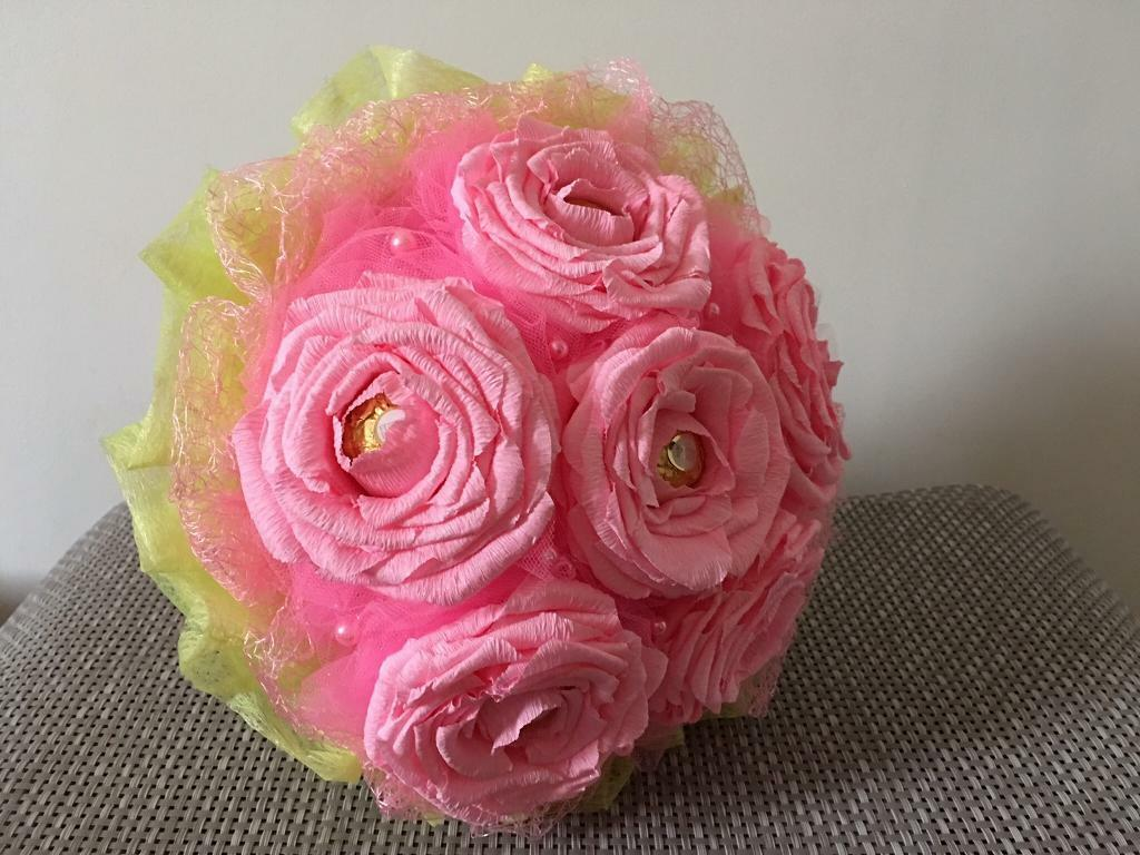 Crepe Paper Flowers Bouquet Handmade In Wootton Northamptonshire Gumtree