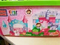 Mega Bloks Megabloks first builders Lil Princess Twinkle Castle tub pink