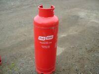 'FULL' 47kg Propane Flo Gas bottle, not Calor, can be delivered