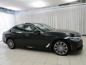 2017 BMW 5 Series IT'S A MUST SEE!!! M 530i x-DRIVE AWD TURBO LU