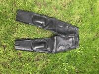 Women's Leather motorcycle trousers.