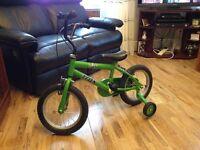 Boys Bike 4-6 years
