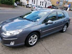 Peugeot 407sw TPH Registered until 2019