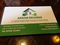 Records Wanted for Cash, I have cash waiting.
