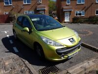 08 peugeot 207 vti 1.4 sport petrol with panoramic roof