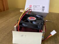 New Pentium 4 CPU cooler for Intel CPUs up to 2.4GHz with Fan