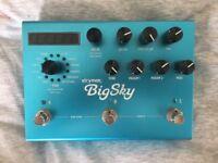 Strymon Big Sky Reverb - Excellent Condition