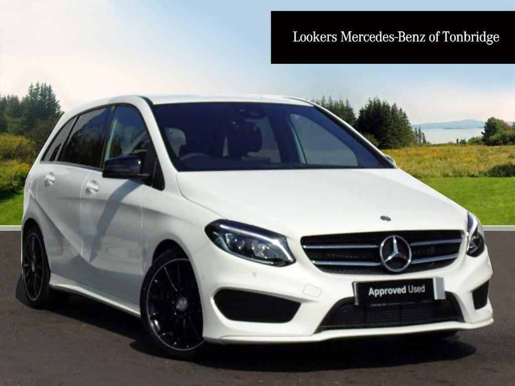 mercedes benz b class b 180 d amg line premium white 2017 12 29 in tonbridge kent gumtree. Black Bedroom Furniture Sets. Home Design Ideas