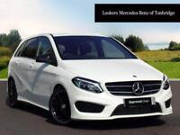 Mercedes-Benz B Class B 180 D AMG LINE PREMIUM (white) 2017-12-29