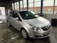 vauxhall corsa 3 dr low mileage