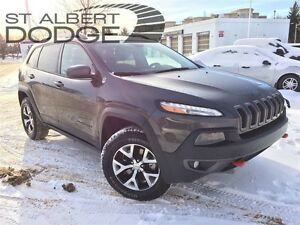 2015 Jeep Cherokee TRAILHAWK 4X4 w/ heat lthr seats | backup cam