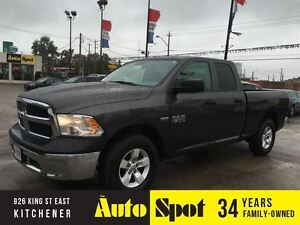 2016 Ram 1500 ST/ PRICED FOR AN IMMEDIATE SALE/ LOW, LOW KMS!!