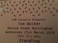 Tom Walker Gig Tickets - Rescue Rooms, Nottingham. March 21st.