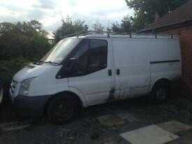 Transit mk7, 2.2 diesel 57 plate breaking for spares and parts