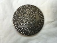 Antique Silver Coin dated 1641