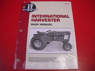 International It Service Shop Manual Tractor Cub Loboy 154 184 185 Ih50