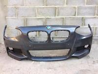 BMW 1 series F20 M Sport 2012 2013 2014 genuine front bumper for sale