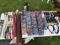 Large Selection of New Dog and Cat Accessories Perfect for Market or Boot Fair Stall