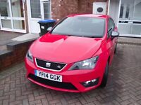 SEAT Ibiza Hatchback MK4 Facelift 1.4 TSI ACT FR Edition SportCoupe 3dr (140) BHP