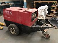 Mosa TS400 SXC Welder Generator Site Welding 400amp Diesel - Newly Serviced