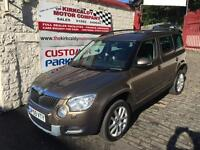 SKODA YETI 2.0 TDI CR [140] Elegance 4x4 (brown) 2009