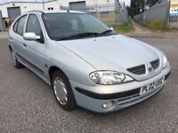 2002 RENAULT MEGANE 1.4 AUTHENTIC 5DR OUTSTANDING CONDITION