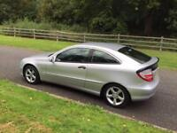 MERCEDES C180 SE COUPE AUTOMATIC 2006 FACE LIFT MODEL FULL SERVICE HISTORY DRIVES THE BEST