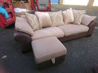 DFS Martinez Large Sofa,Footstool & Armchair, DELIVERY AVAILABLE
