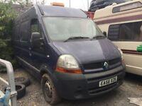 2006 Renault Master van diesel, starts and drives, van located in Gravesend Kent, no MOT, any questi