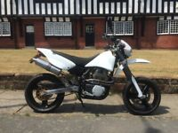 CCM R30 supermoto Rotax white immaculate