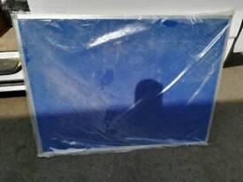 Pin board white board 1200mm x 900mm reversible