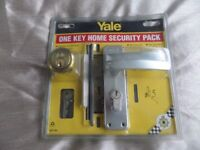 Yale Home Security Lock.