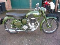 Royal Enfield 1954 250cc Clipper