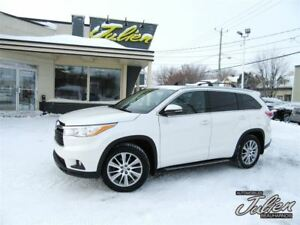 2015 Toyota Highlander XLE, NAV, 8 PLACES, CUIR, AWD, DEMAREUR A