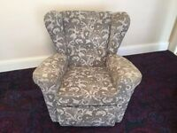 FREE: Three piece suit - sofa + 2 chairs, collection only
