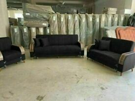 🤘🏻💓2020 FRESH SALES TURKISH DESIGN FABRIC STORAGE SOFA BEDS SETTEE BLACK BROWN GREY SOFABED
