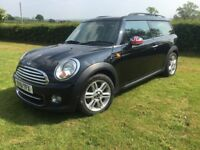 Mini Clubman 1.6 BMW 6 Speed Diesel 1/2 Leather 20 Tax Cruise control USB AUX 1 owner with history